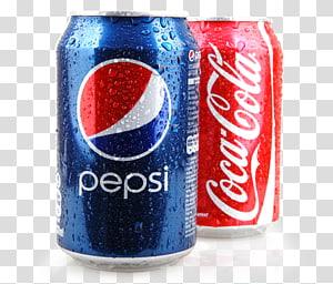 dua coca cola merah dan biru dan kaleng pepsi, minuman bersoda coca-cola fanta diet coke, minuman dingin PNG clipart