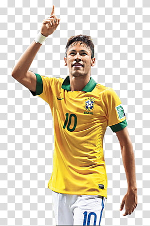 Neymar 2018 Piala Dunia FIFA Tim sepak bola nasional Brasil 2014 FIFA World Cup, neymar, jersey bola kuning pria png