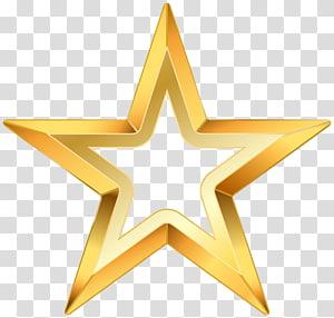 Bintang, Bintang Emas, ilustrasi bintang kuning png