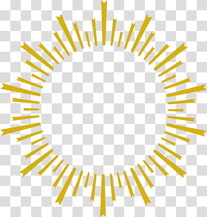 Desain grafis, kepribadian sinar matahari emas, sinar matahari kuning PNG clipart