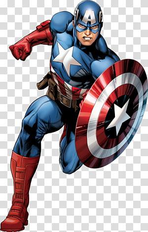 Seni grafis Captain America, Captain America Spider-Man Iron Man The Avengers Carol Danvers, superhero png