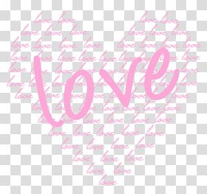 kata awan cinta berbentuk hati, Heart Valentine's Day Pink, Soft Pink Heart of Love png
