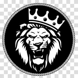 Lion Logo Roar, singa, singa y PNG clipart