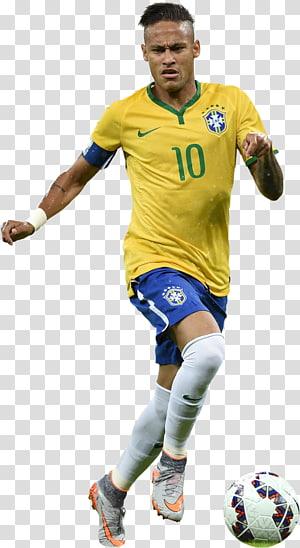 Tim sepak bola nasional Brasil Neymar FC Barcelona Piala Dunia FIFA 2014, Atlet Sepak Bola Neymar, pemain sepak bola png