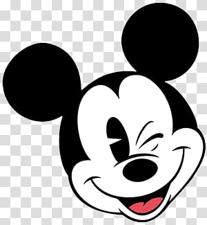kepala Mickey Mouse klasik, Mickey Mouse Minnie Mouse Face, mickey png