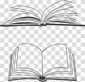 Book Scalable Graphics, karya seni buku terbuka, ilustrasi buku png