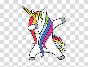 ilustrasi unicorn warna-warni, T-shirt Unicorn Desktop Dab Mobile Phones, unicorn png