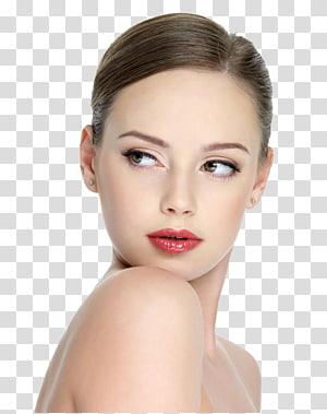 Beauty Parlor Cosmetics Model Massage, model Bibir wanita, potret wanita PNG clipart