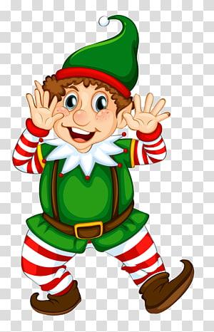 Santa Claus, ornamen Natal, peri Natal, peri Natal, ilustrasi peri Natal png