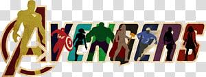 Logo Marvel Avengers, Logo Hulk Iron Man Spider-Man Avengers, Avengers png
