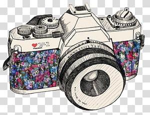 Lukisan kamera SLR, Gambar kamera film grafis, Materiais Pra Edições: Câmeras png