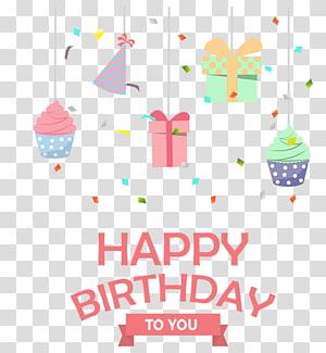 Kue ulang tahun Pesta, Ulang Tahun, selamat ulang tahun ilustrasi untuk Anda png