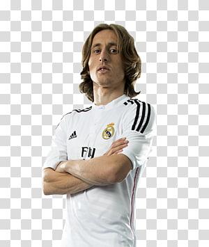 kaos sepak bola putih pria, Luka Modrić Real Madrid C.F.Pemain sepak bola, luka modric png