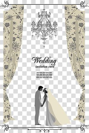 Undangan pernikahan, undangan pernikahan, kartu undangan pernikahan png