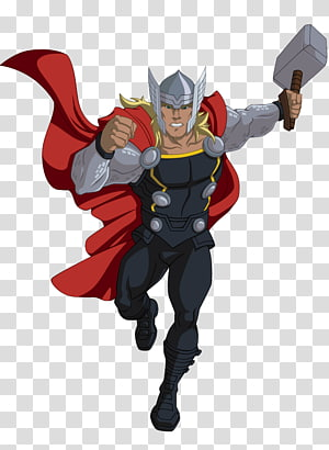 Thor ilustrasi, Thor Kartun Marvel Cinematic Universe Marvel Animation Comics, Thor png