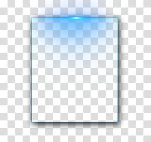Kotak teks Adobe Illustrator Ikon, bingkai, berbentuk persegi panjang dengan lampu biru png