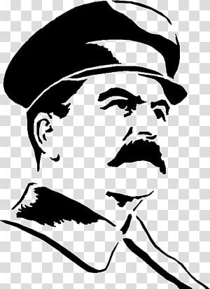 pria yang memakai seni topi, Menggambar Sketsa, Stalin png
