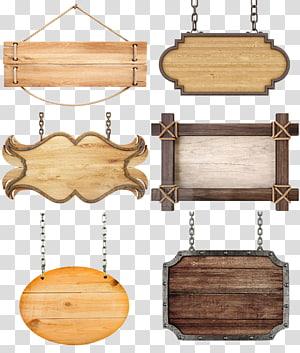 Ikon, tag Pagar, beberapa dekorasi gantung kayu png