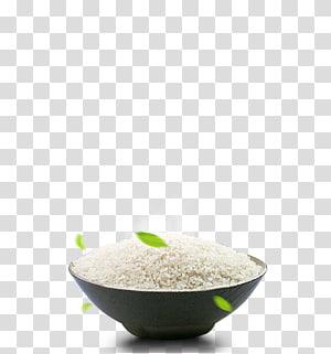 nasi putih di mangkuk, nasi hitam sereal beras nasi putih, semangkuk nasi png