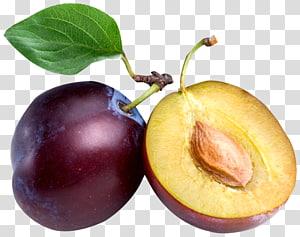 Nutrisi umum buah Kering, prem, irisan buah prem ungu png