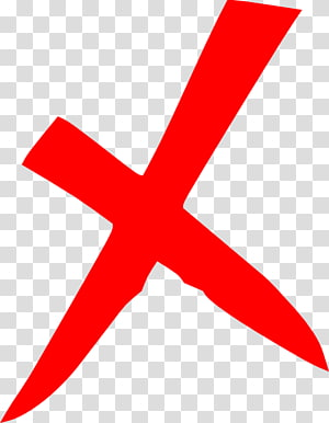 Ikon Komputer Konten gratis, Merah X, merah x logo PNG clipart
