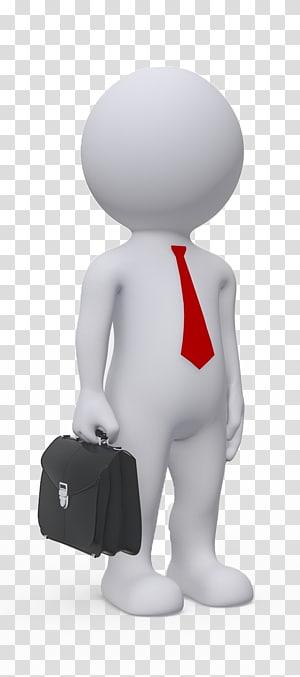 pria mengenakan dasi dan memegang tas kerja, Pengusaha Antreprenor Business plan Management, pebisnis png