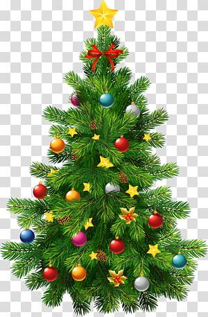 Pohon Natal Ornamen Natal, Pohon Natal Deco Besar, stiker pohon Natal hijau PNG clipart