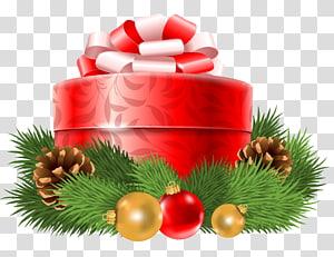 ilustrasi kotak hadiah merah dan putih, hadiah Natal hadiah Natal kartu Natal, Dekorasi Hadiah Natal Merah png