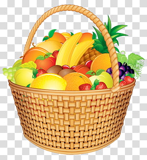 ilustrasi keranjang buah, Keranjang Hadiah Buah, Keranjang Buah png