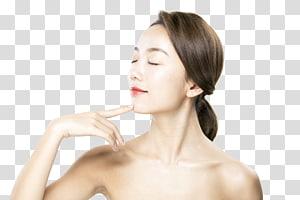 ilustrasi wanita, Ikon Wajah perawatan kulit, model Perawatan Kulit PNG clipart