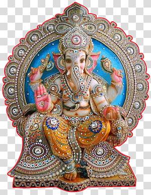 Figurine Ganesha, Krishna Ganesha Ganesh Chaturthi Sri Dewa, tirumala png