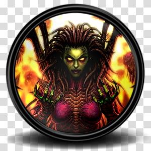 karakter animasi berambut hitam, karakter fiksi setan makhluk mitos, Starcraft 2 8 png
