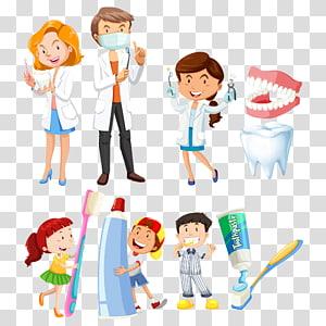 ilustrasi kesehatan gigi, Ilustrasi Sikat Gigi, kedokteran gigi dan anak png