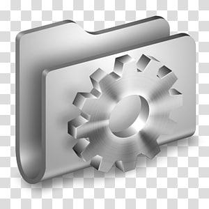 roda mekanik perak, sudut aksesori perangkat keras, Folder Logam Pengembang png