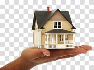 rumah mini putih dan hitam, Rumah Kredit Bisnis Real Estat WordPress, Rumah memegang tangan png