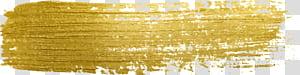 Paint Gold, Golden glitter paint png