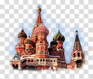 saint basil \ 's square red moscow moskow gereja kremlin, gereja PNG clipart