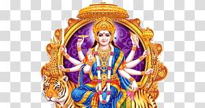 Ilustrasi Dewa Hindu, Parvati Durga Shiva Devi, telugu png