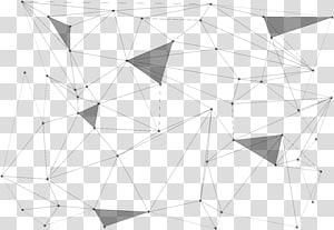 Titik Garis Geometri, Pola garis abstrak geometris png