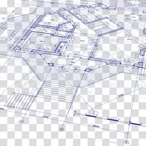 ilustrasi cetak biru, Denah rumah Denah arsitektur, Denah png