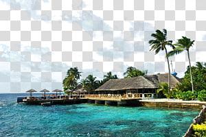 resor dekat pantai, Maladewa Daya Tarik Wisata, Resor Pulau, Objek Wisata Pulau Centara png