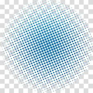 ilustrasi Pop art, Poster Biru dot Karnaval, ilustrasi polka dot biru png