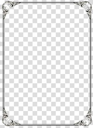 Microsoft Word Template, File Bingkai Perbatasan Hitam, bingkai hitam PNG clipart