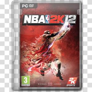 NBA 2K12 PC DVD case, perangkat lunak permainan video game pc, NBA 2K12 png