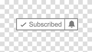 Ikon berlangganan, Font Angle Logo Merek Baris, berlangganan tombol youtube png