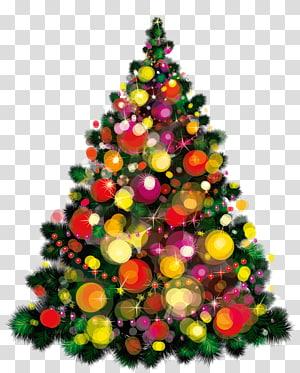 Ilustrasi pohon Natal, pohon Natal Hari Natal Sikat hiasan Natal, Pohon Deco Natal PNG clipart