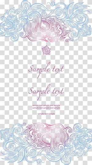 latar belakang biru dengan sampel teks overlay teks sampel, kartu ucapan Undangan Pernikahan, Undangan Pernikahan png