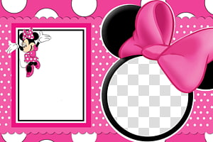 Minnie Mouse Mickey Mouse Frames, Minnie Mouse Frame, cermin Minnie Mouse png