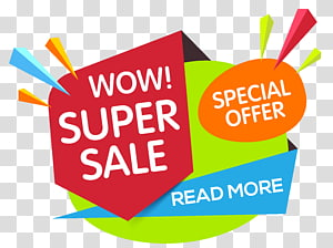 Poster Wow Super Sale, Iklan banner web Promosi, Hot tag PNG clipart