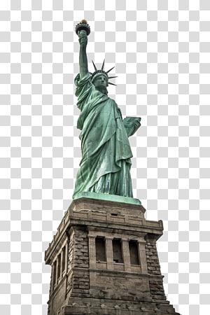 Statue of Liberty, Statue of Liberty Empire State Building Satu World Trade Center New York Harbor Ellis Island, New York Statue of Liberty HD s png